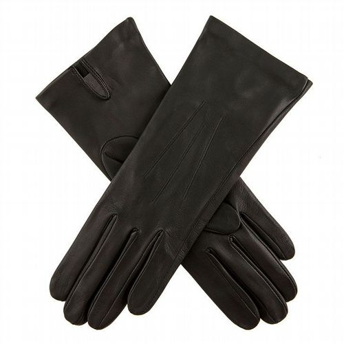Dents - Women's Leather Gloves - Black